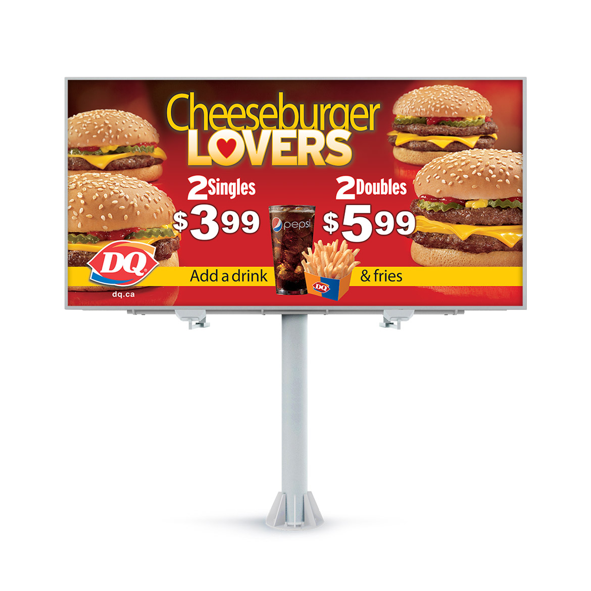 Billboard-Design-Dairy-Queen-Cheeseburger-Lovers