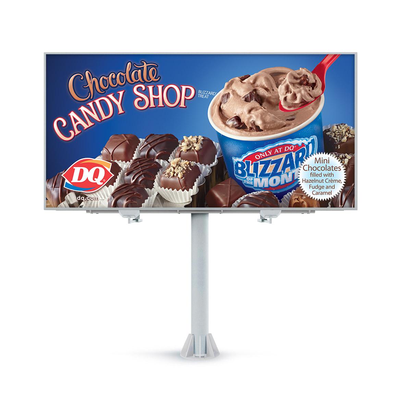 Billboard-Design-Dairy-Queen-Chocolate-Candy-Shop