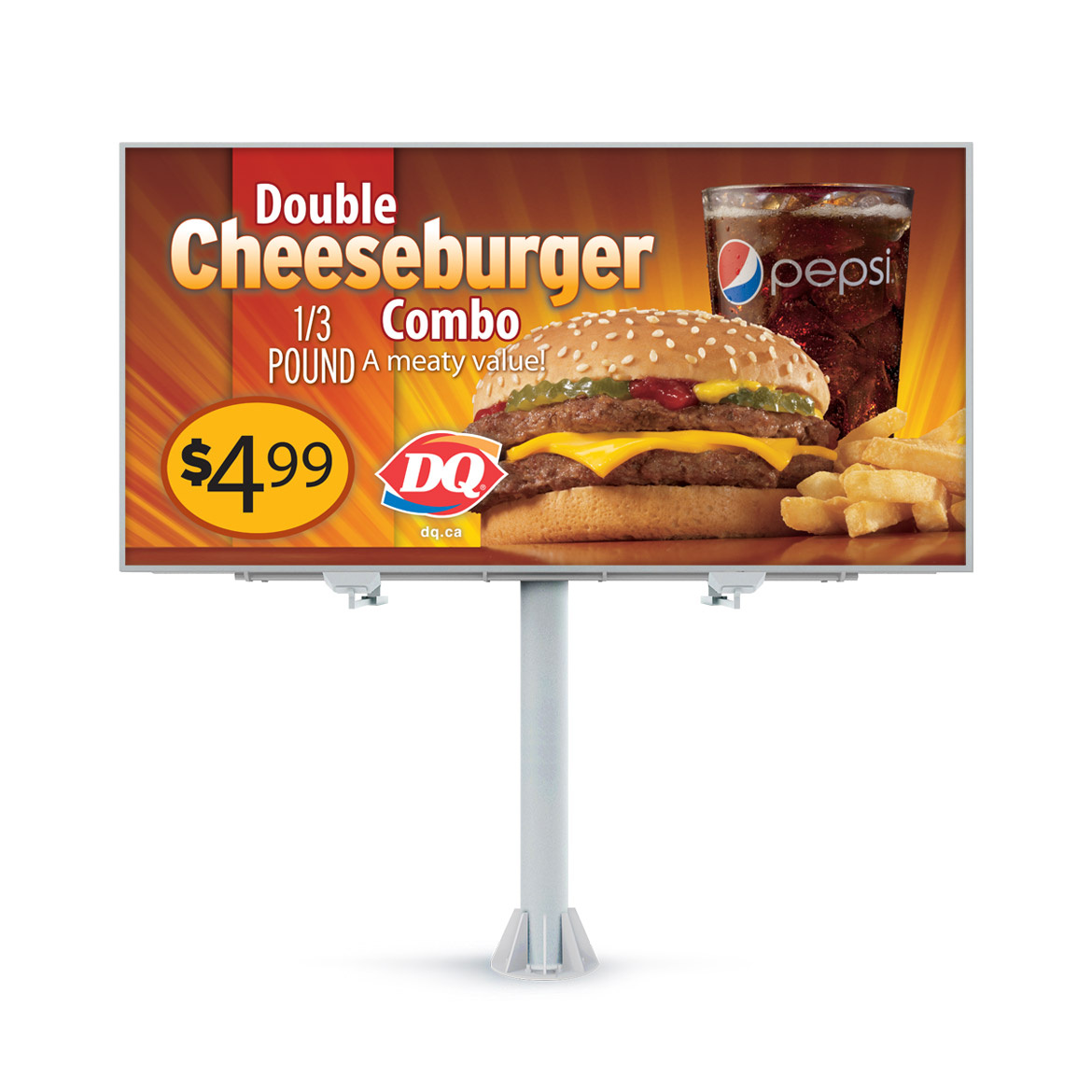 Billboard-Design-Dairy-Queen-Double-Cheeseburger