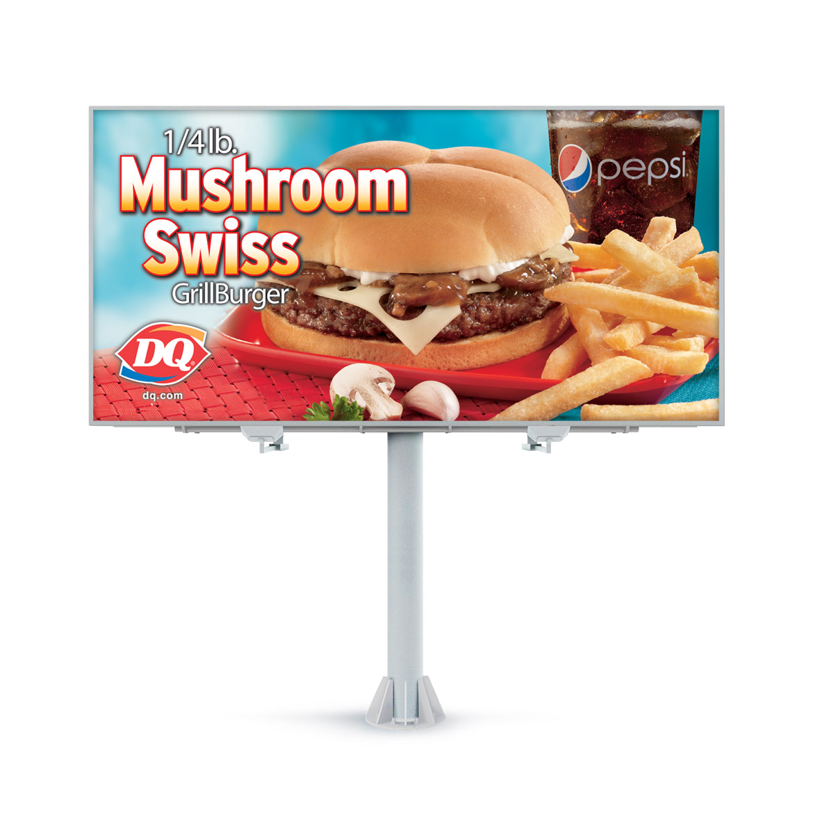 Billboard-Design-Dairy-Queen-Mushroom-Swiss