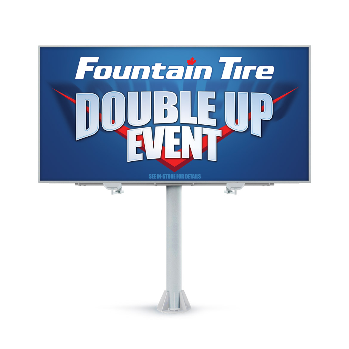Billboard-Design-Fountain-Tire-Double-Up-Event
