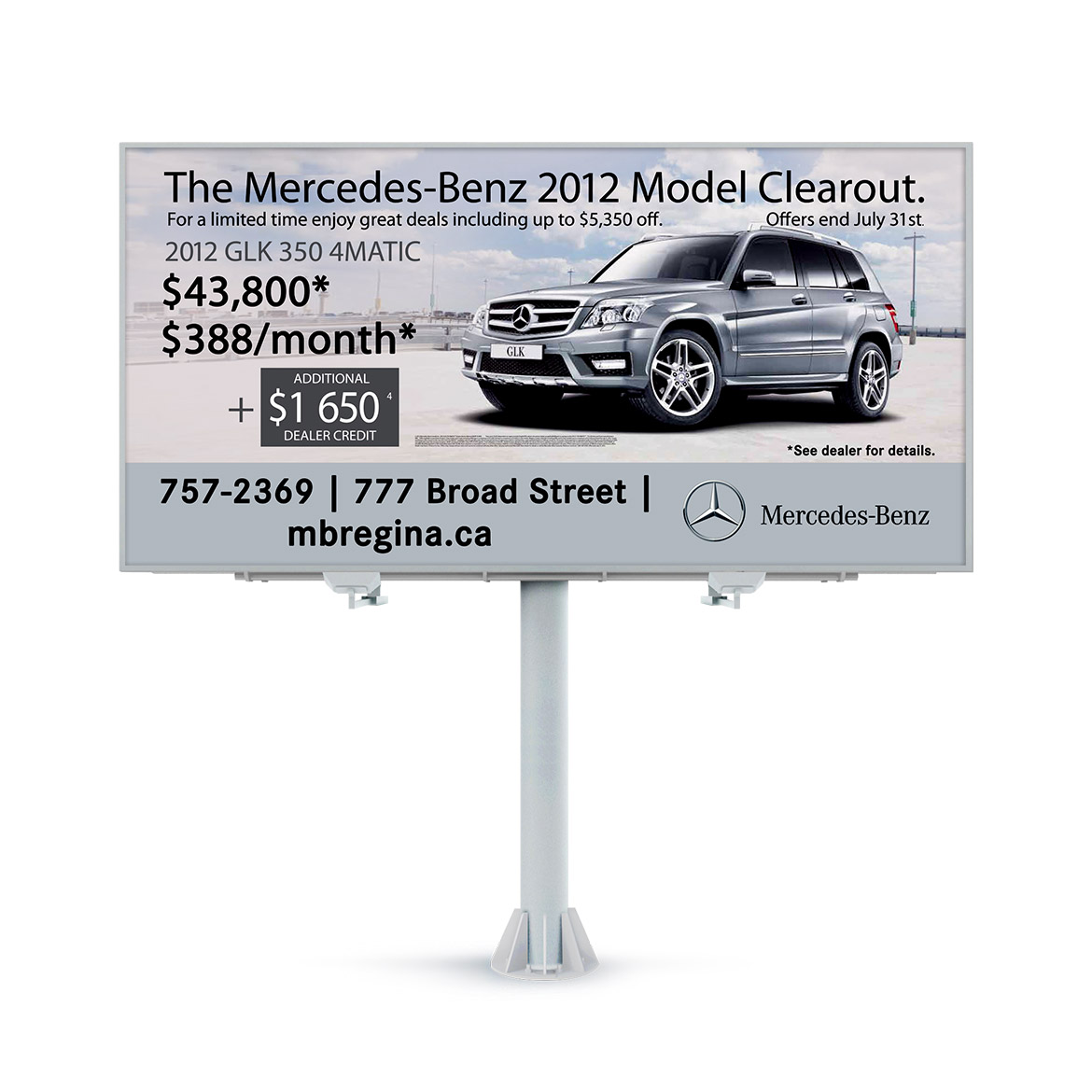 Billboard-Design-Mercedes-Benz-Regina-GLK-2