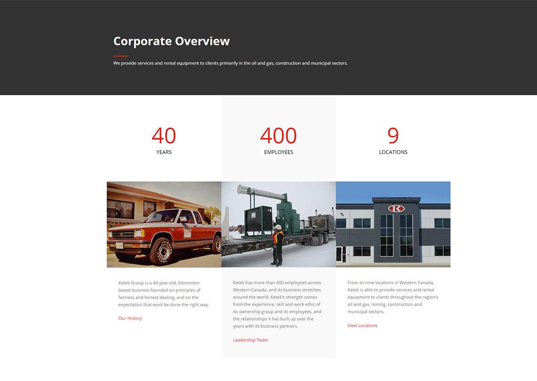 ketek-website-design-corporate-overview