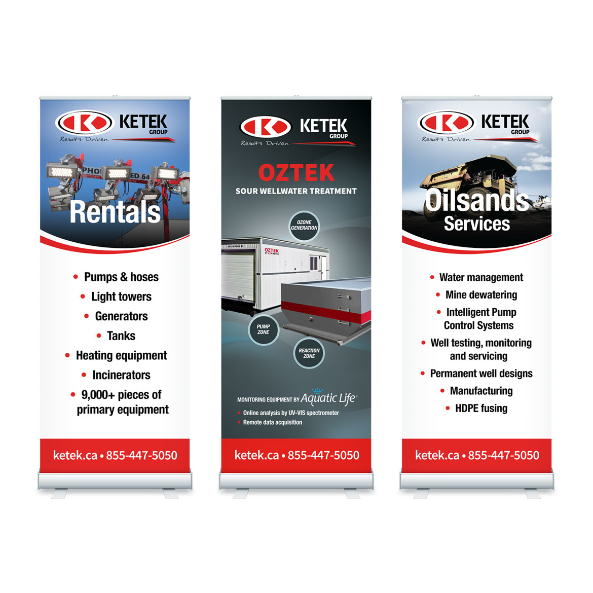 Retractable Banner Design - Edmonton - Ketek Group