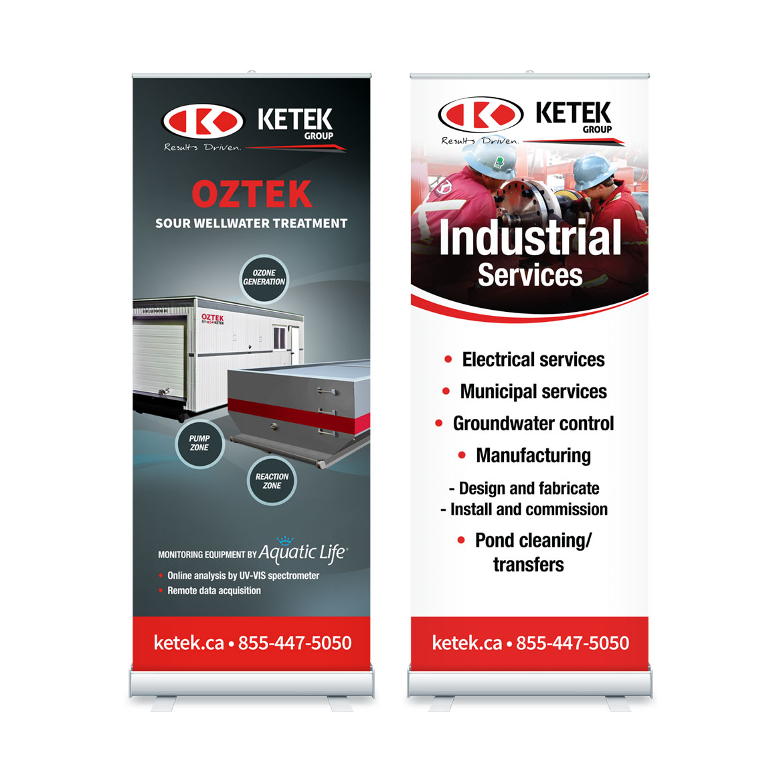 Trade Show - Banner Design - Edmonton - Ketek Group