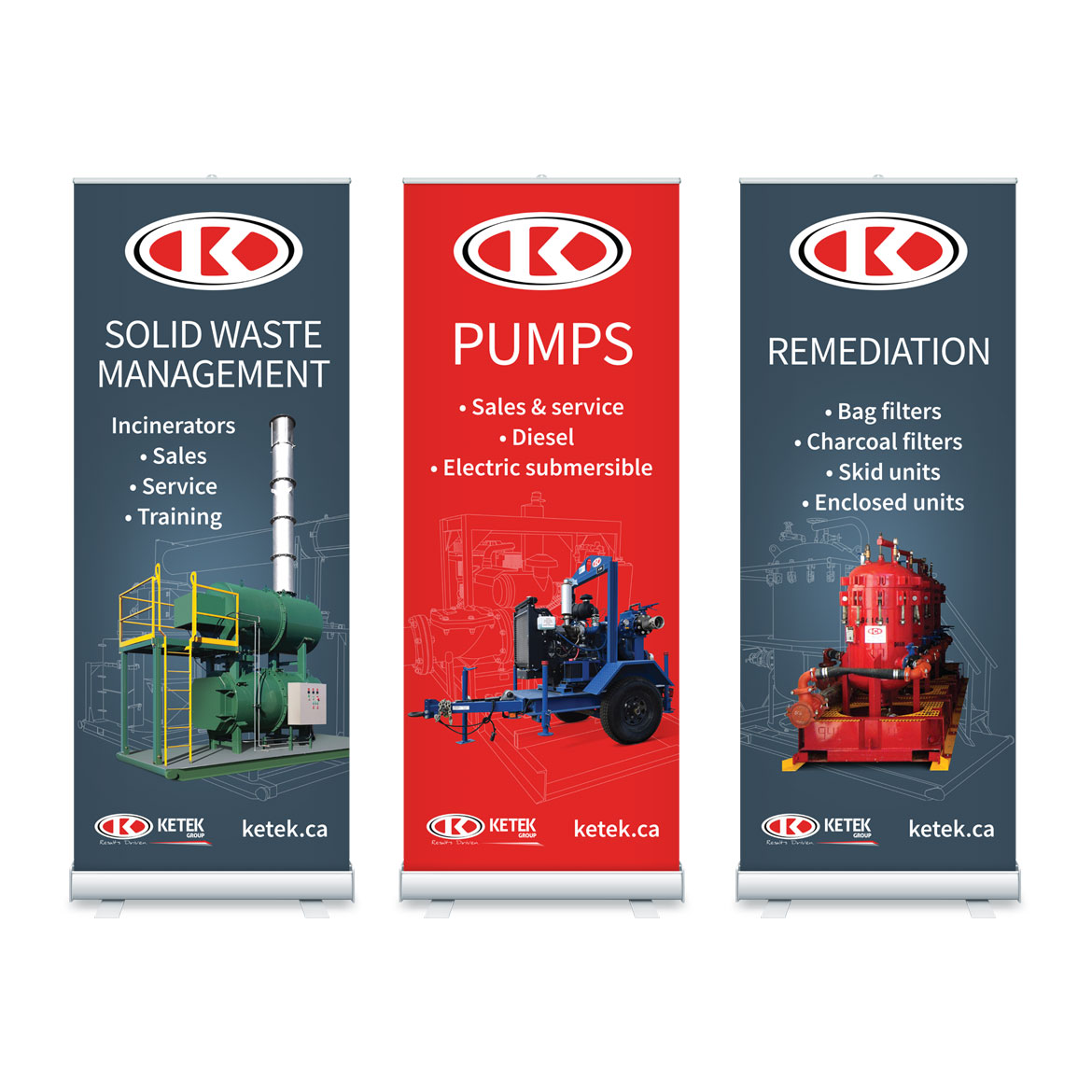 Trade Show Materials Design - Edmonton - Ketek Group