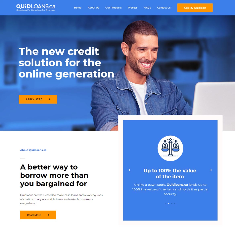 DominantArt - Webdesign In Edmonton- Quidloans