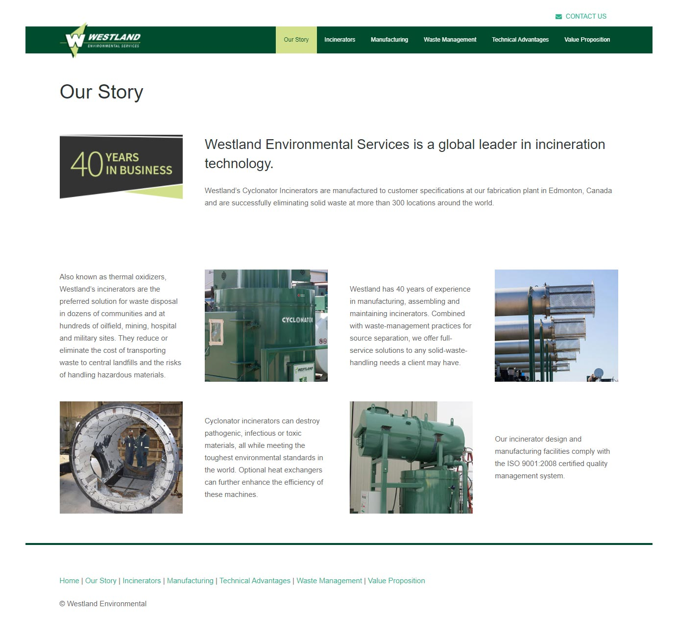 Westland Environmental - Our Story