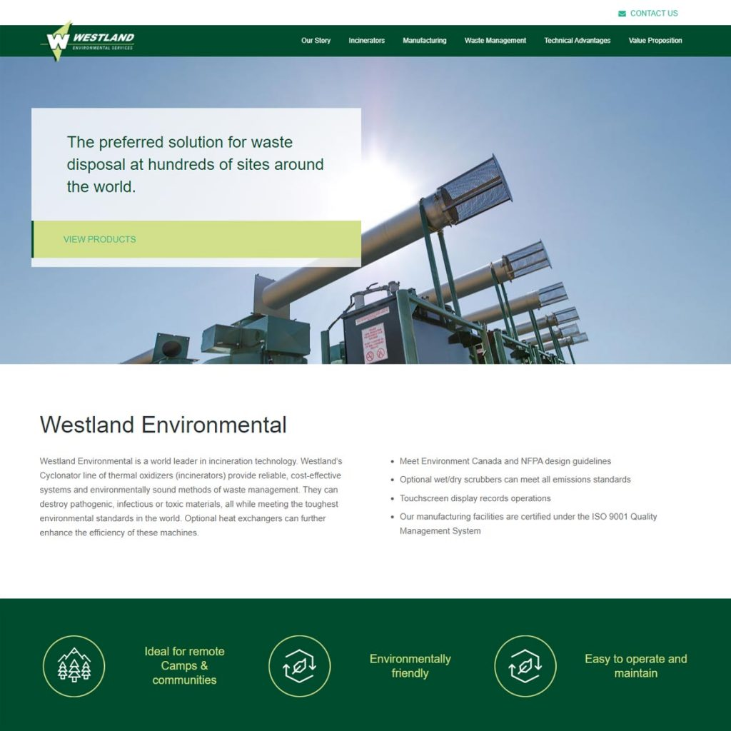 Westland Environmental - Website