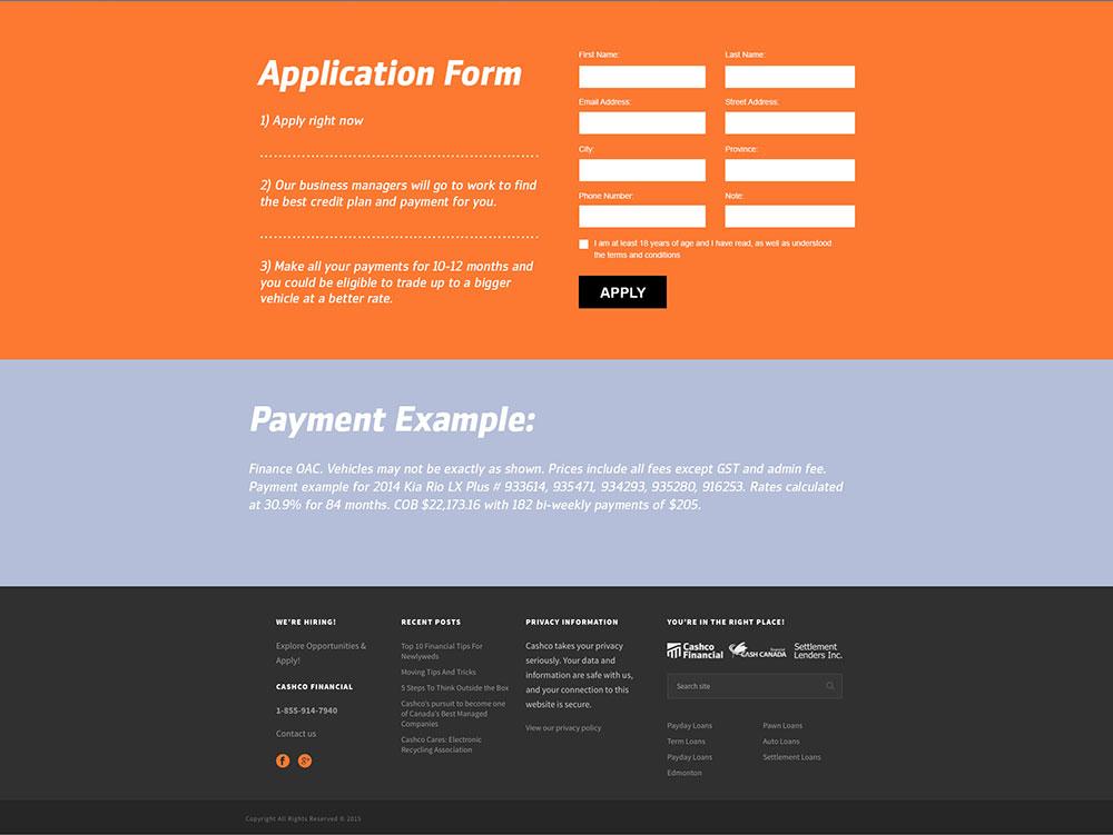 KIA-Rio-Landing-Page-Design-Cashco